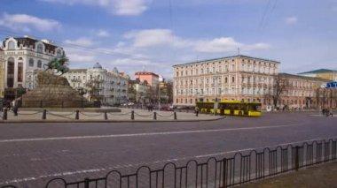 The area of Bogdan Khmelnitsky — Stock Video