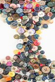 Buttons for clothes — Stock Photo