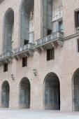 Abbey of Santa Maria de Montserrat — Стоковое фото
