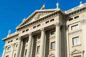 Military government building barcelona — Stock Photo