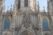 Cathedral of Barcelona — Stock Photo