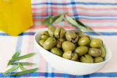 Homemade olives — Stock Photo