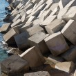 Breakwater cement blocks — Stock fotografie #61591275