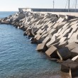 Breakwater cement blocks — Stock Photo #61592625