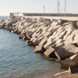 Breakwater cement blocks — Stok fotoğraf #62585093