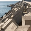 Breakwater cement blocks — Stock Photo #62585887