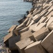 Breakwater cement blocks — Stok fotoğraf #62586101