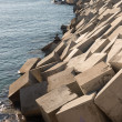 Breakwater cement blocks — Stock fotografie #62586101