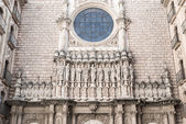 Abbey of Santa Maria de Montserrat — Stock Photo