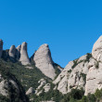 Mountains of Montserrat — Stock Photo #71413387