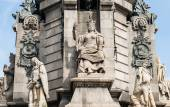 Monument to Christopher Columbus in Barcelona — Stock Photo