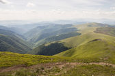 Paisagem de montanhas — Fotografia Stock