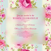 Roses, fond d'écran floral. — Vector de stock