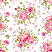 Luxurious color peony pattern. — Cтоковый вектор