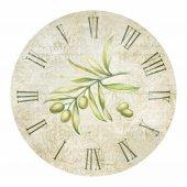 Olive clock. — Stock Photo
