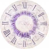 Relógio de lavanda. — Fotografia Stock