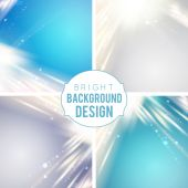 Futuristic blue abstract glowing background. — Stock Vector