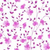 Seamless flowers pattern. — Stock Vector
