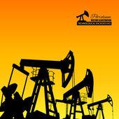 Oil industry. — Stock Vector
