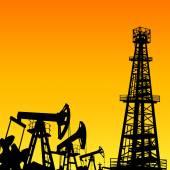 Oil industry. — Stockvektor