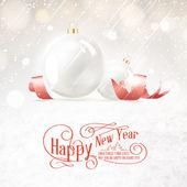 クリスマスボール. — ストックベクタ