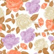 Seamless floral pattern — Stock Vector #58242363