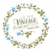 Flores vintage. — Vector de stock