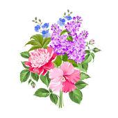 Flores de primavera. — Vector de stock