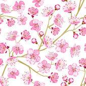 Spring flowers wallpaper — Cтоковый вектор