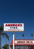 America's Tire Sign — Stock Photo