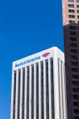 Bank of America Center in Los Angeles — Stock Photo