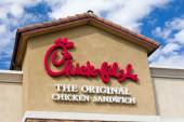 Chick-fil-A Restaurant — Stockfoto