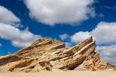 Vasquez Rocks Natural Area Park — Stock Photo
