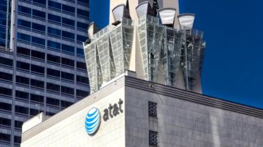 AT&T Tower Los Angeles — Stock Video