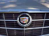 Cadillac Grille and Logo — Stock Photo