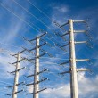Power Transmission Electrical Lines — Stock Photo #58173619