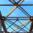 Overhead View of Railroad Bridge — Stock Photo #58173627