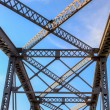 Overhead View of Railroad Bridge — Stock Photo #58173645