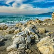 Rocks on Beach at Point Dume State Beach — Stock Photo #60629217