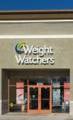 Weight Waters Exterior and Sign — Stock Photo