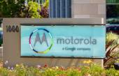 Motorola Headquarters Sign in Silicon Valley — Stock Photo