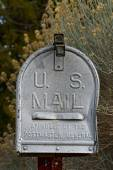 Distressed Rural Mailbox — Stock Photo