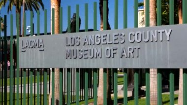 Los Angeles County Museum of Art — Stock Video