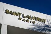 Saint Laurent Paris Retail Store exterior — Стоковое фото