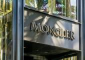 Moncler Retail Store Exterior — Стоковое фото