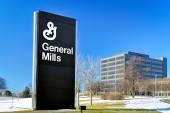 General mills Centrala i znak — Zdjęcie stockowe