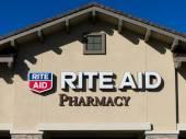 Rite Aid Pharmacy Store Exterior — Stock Photo