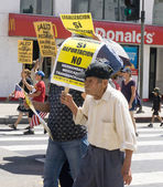 Immigration Reform Rally in the United States — Stock Photo