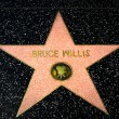 Bruce Willis Star on the Hollywood Walk of Fame — Stock Photo #71365501