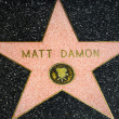 ������, ������: Matt Damon Star on the Hollywood Walk of Fame